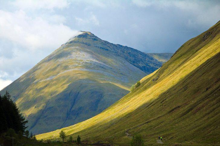 paysage randonnée écosse