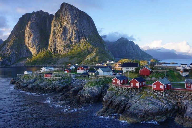 treks lofoten norvège