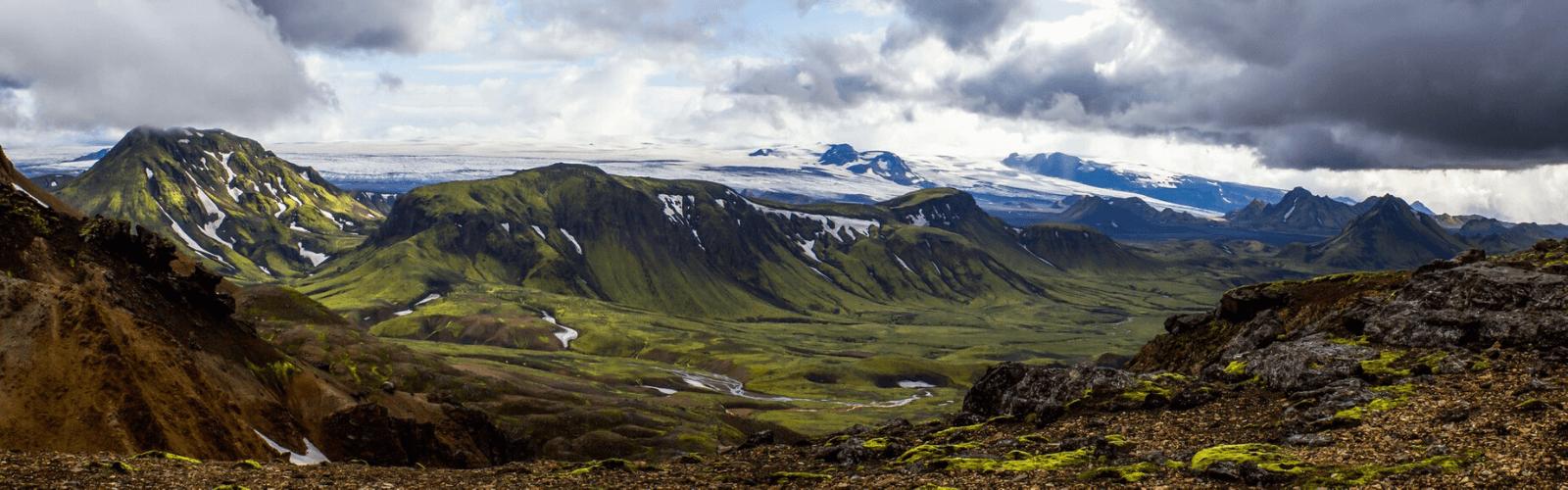 trek paysage