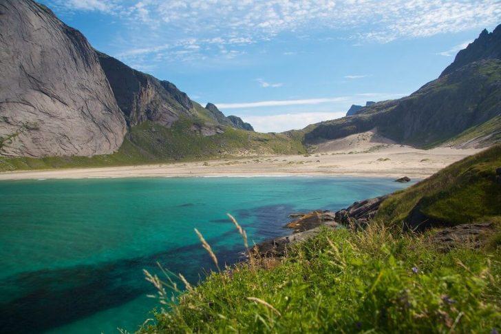 chemin de randonnée norvège