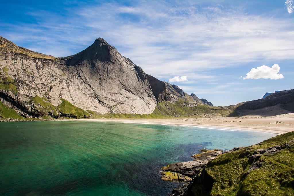 plage norvège