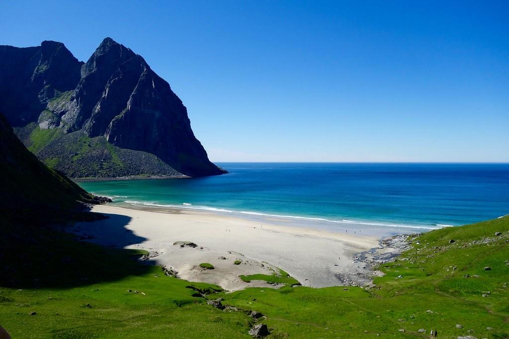paysage plage norvège