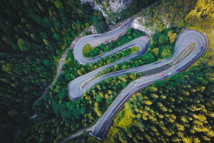plus belles routes d'Europe