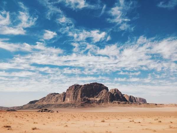 paysage jordanie