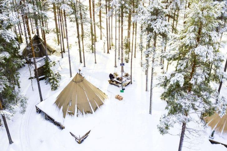 meilleur hotel Laponie Suédoise