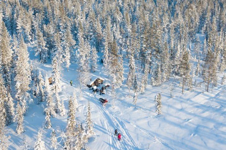 excursion en Laponie Suédoise