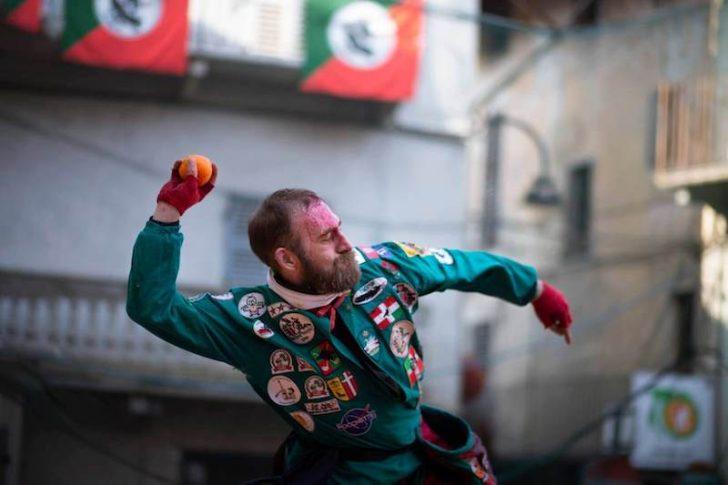Le Carnaval d'Ivrea en Italie 3