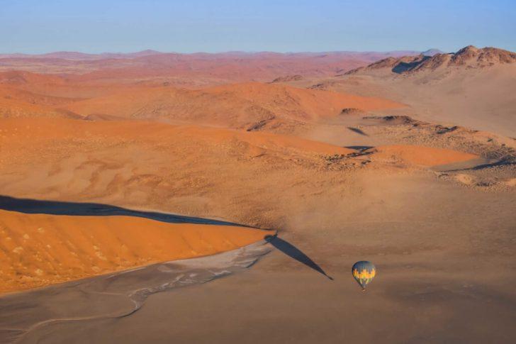 montgolfier namibie