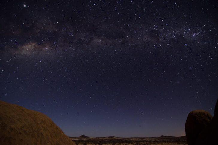 nuit étoilée namibie