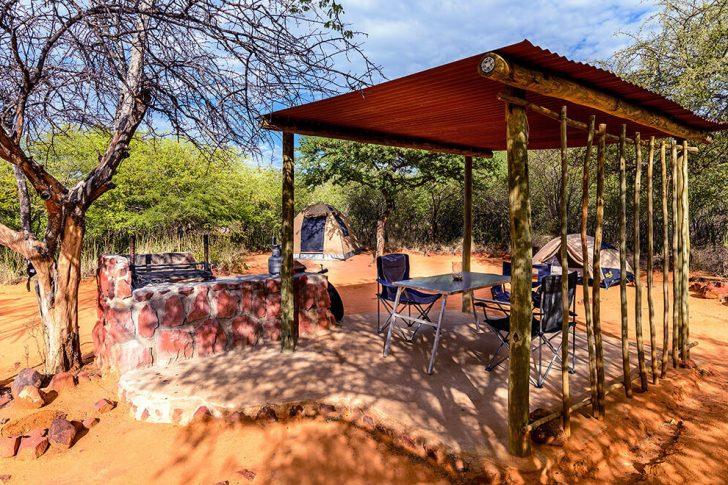 camping en namibie