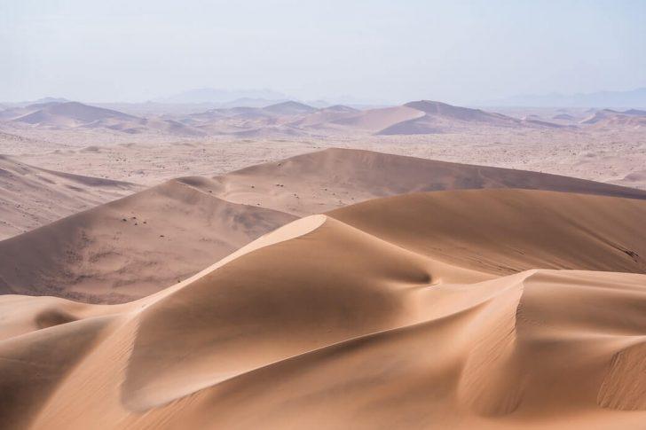 dunes de sable namibie