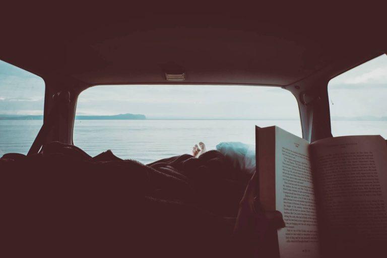 Photo d'un voyage en van