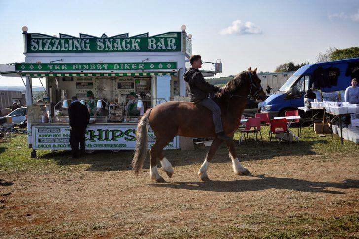 La Foire aux chevaux de Stow on the Wold en Angleterre