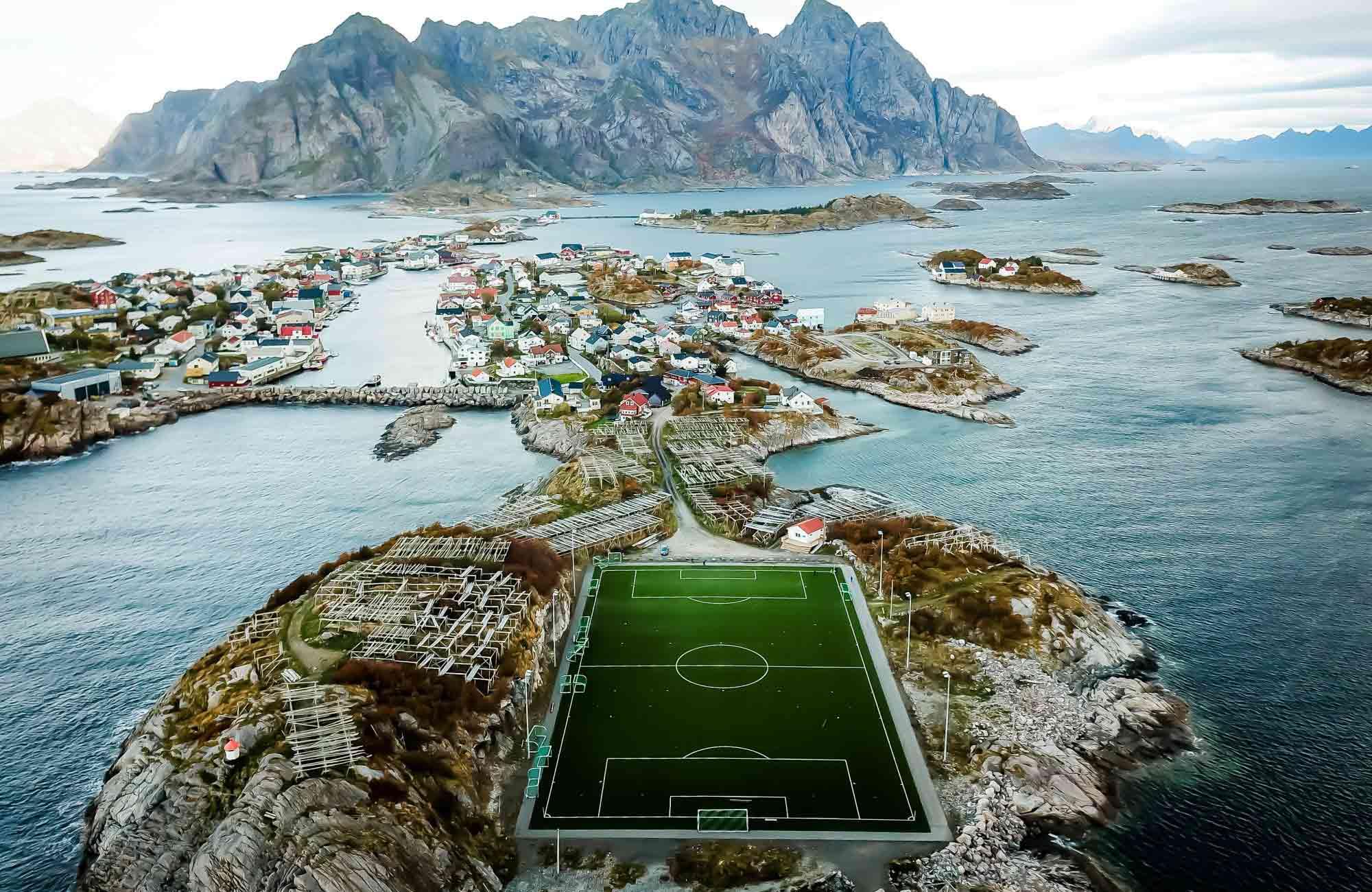 plus beaux terrains de foot