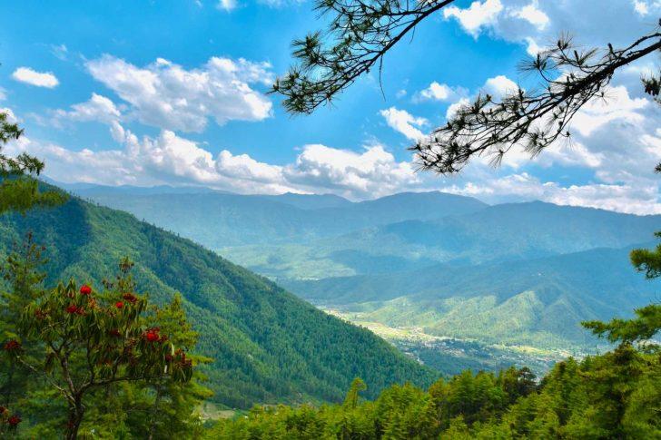Paysage Bhoutan