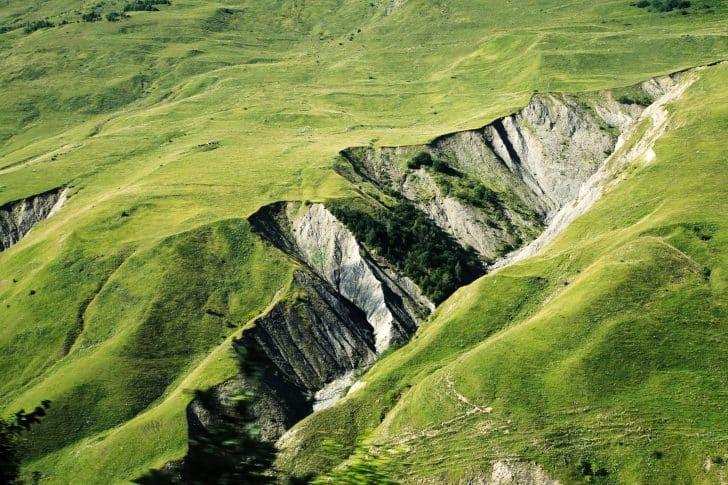 paysage en Géorgie