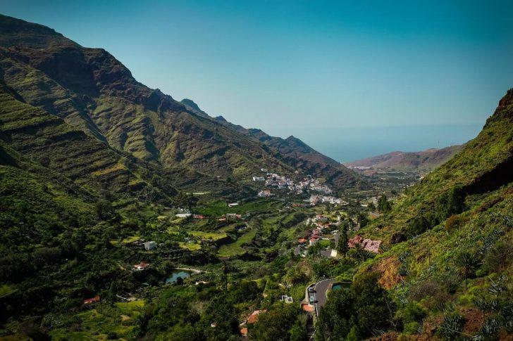 Paysage îles Canaries